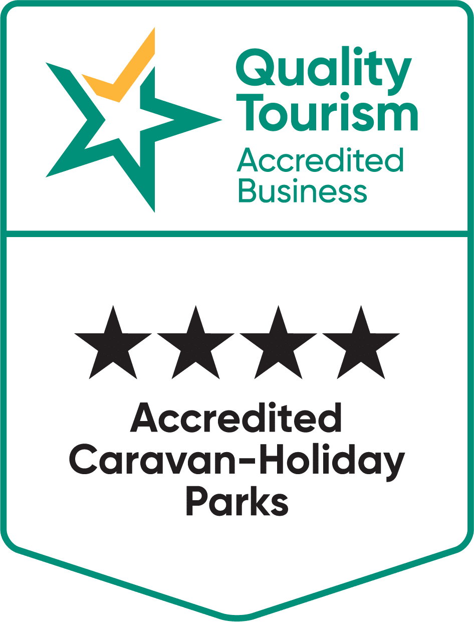 quality toursim accredited caravan holiday park