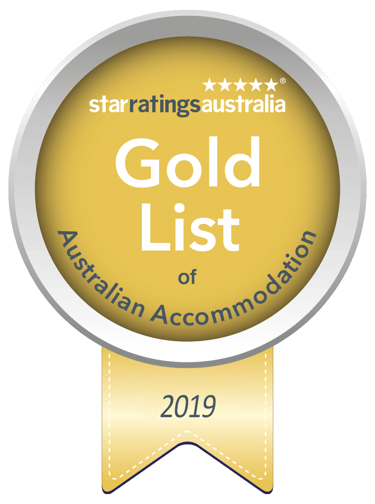 gold list of australian accommodation