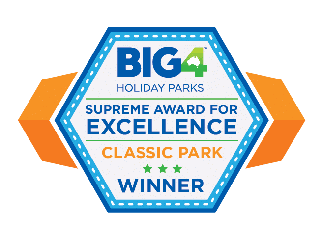 big4 supreme award for excellence park winner